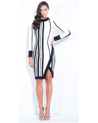 Lumier - Earn Your Stripes Long Sleeve Dress - Lyst