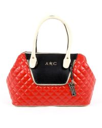 Andrew Charles by Andy Hilfiger | Andrew Charles Womens Handbag Red Dalya | Lyst
