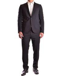 Les Hommes - Men's Usu03bsinglee660999 Black Cotton Blazer - Lyst