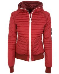 Rossignol | Women's Red Polyamide Down Jacket | Lyst