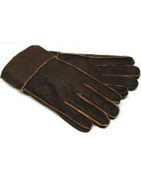 Gloves International - Men's Grain Shearling Gloves - Lyst