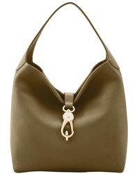 Dooney & Bourke - Belvedere Logo Lock Shoulder Bag - Lyst