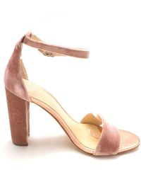 Ivanka Trump - Womens Emalyn2 Fabric Open Toe Special Occasion Ankle Strap Sand... - Lyst