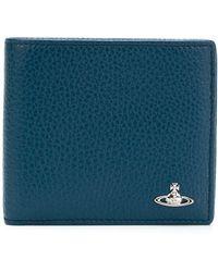 Vivienne Westwood - Men's 5112000840324k401 Blue Leather Wallet - Lyst