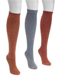 Muk Luks - Women's Lurex Knee High Socks - Lyst