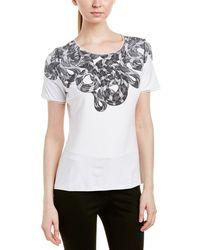 Elie Tahari - T-shirt - Lyst