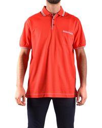 Paul & Shark - Men's Red Cotton Polo Shirt - Lyst