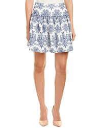 Nicholas | N / Embroidered A-line Skirt | Lyst