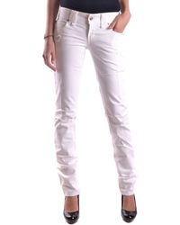 John Galliano - Women's White Denim Jeans - Lyst