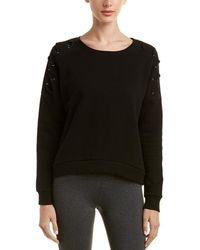 Betsey Johnson - Lace-up Sleeve Pullover - Lyst