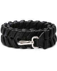 Fendi - Women's Black Leather Shoulder Strap - Lyst
