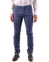 Harmont & Blaine - Men's Blue Cotton Jeans - Lyst