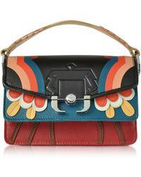 Paula Cademartori - Women's Multicolor Leather Shoulder Bag - Lyst