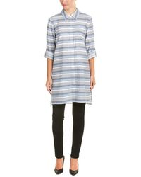 Two By Vince Camuto - Two By Vince Camuto Linen-blend Tunic - Lyst