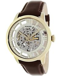 Fossil | Townsman Me3043 Silver Dial Watch | Lyst