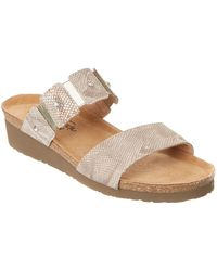 Naot - Ashley Leather Sandal - Lyst