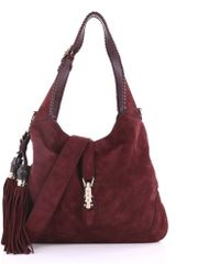 Gucci - Pre Owned New Jackie Handbag Suede Medium - Lyst