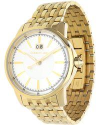Cerruti 1881 - Watch Gold Cra072h211b - Lyst
