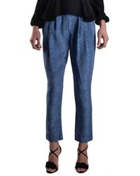 Philosophy - Women's Light Blue Silk Pants - Lyst