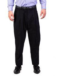 Dior - Homme Men's Cotton Mc Hammer Fit Dress Trousers Pants Black - Lyst