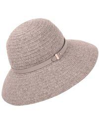Lyst - Helen Kaminski Adela Wool Hat af84be93c271