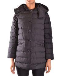 Aspesi - Women's Mcbi150124o Black Polyamide Down Jacket - Lyst