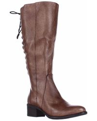 Steve Madden - Laceup Western Boots - Cognac - Lyst