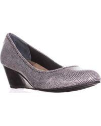 Giani Bernini - Gb35 Jileen Comfort Wedge Heels, Black/white - Lyst