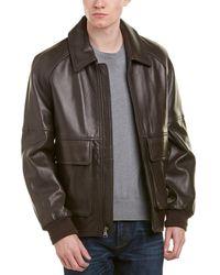 Marc New York - Coles Leather Coat - Lyst