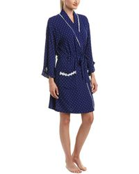 Eileen West - Short Robe - Lyst
