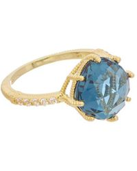 Judith Ripka - 14k Over Silver Spinel Ring - Lyst