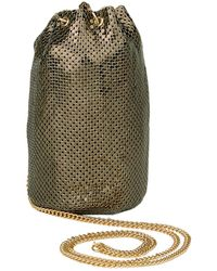 Whiting & Davis - Mini Bucket Bag - Lyst