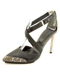 Rachel Roy - Brandon Platform Sandals - Black White Multi - Lyst