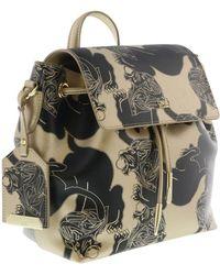 Roberto Cavalli - Hxlpaw D61 Gold/black Backpack - Lyst