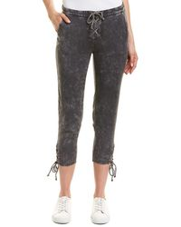 Chaser - Heirloom Lace-up Crop Pant - Lyst