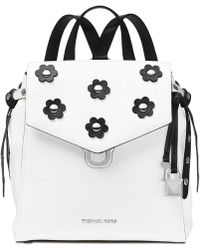 86d86a07af2ed Michael Kors - Bristol Small Leather Backpack - Lyst