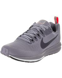 wholesale dealer e27a9 a584f Nike - Women s Air Zoom Structure 21 Shield Running Shoe - Lyst