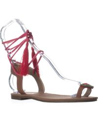 1727bb6e7b45 Sam Edelman - Circus By Binx5 Toe Ring Lace Up Sandals