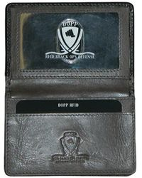 Dopp - Men's Rfid Alpha Collection Business Card Case - Lyst