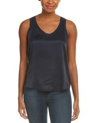 Rebecca Taylor - Charmeuse Silk Top - Lyst