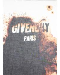 """Givenchy - Women's """" Paris"""" Cashmere Scarf Large - Lyst"""