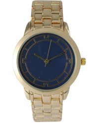 Olivia Pratt - Simple Colored Dial Metal Watch - Lyst