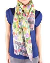 Altea - Women's Multicolor Cotton Scarf - Lyst