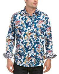 Robert Graham - Classic Fit Paril Creek Woven Shirt - Lyst