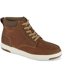 Dockers - Mens Gaines Leather Casual High Top Sneaker Shoe - Lyst