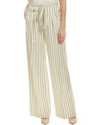 Carolina Herrera - Wool-blend Silk-lined Pant - Lyst