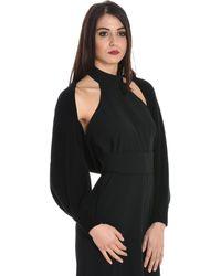 Jucca - Women's Black Wool Cardigan - Lyst