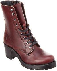 Frye - Sabrina Moto Leather Bootie - Lyst
