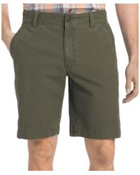 G.H.BASS - G.h. Bass & Co. Mens Canvas Terrain Casual Shorts - Lyst