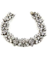 Ben-Amun - Ben Amun Swarovski Crystal Cluster Bracelet - Lyst